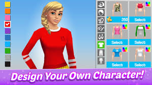You can design Character