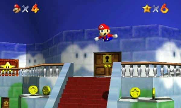 Gameplay Super Mario 64