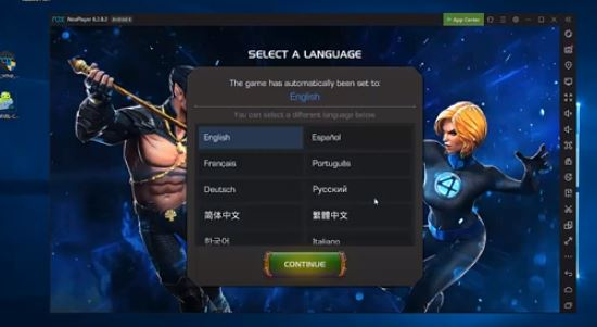 Use Marvel contest of champions