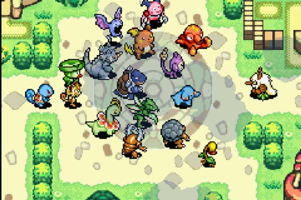 Pokemon Mystery Dungeon - Blue Rescue Team story