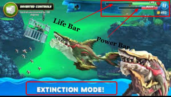 Gameplay of Hungry Shark